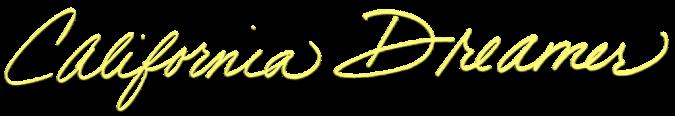 California Dreamer Logo - Yellow 01